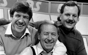 I met Emlyn Hughes twice: Once in a shoe shop in Rotherham, and again as we were the only people in a restaurant on my 18th birthday. Our families that is, not just me and Emlyn, that would have been weird.
